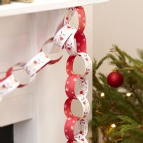 Rocking Rudolf Paper Chains (50)